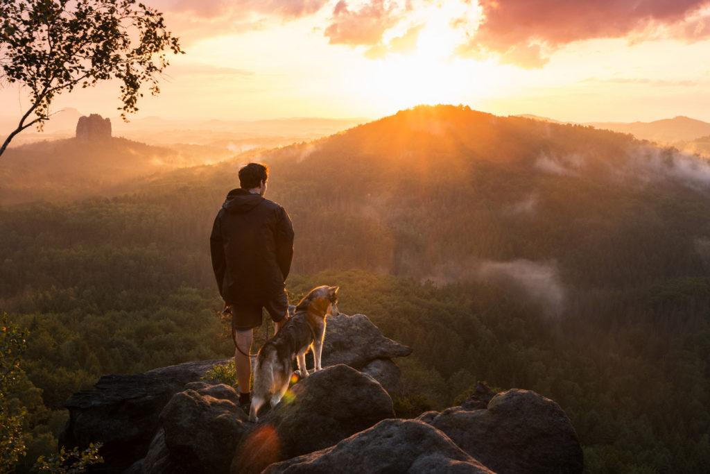 Auf neuen Wegen – Klettern und Boofen im Elbsandsteingebirge
